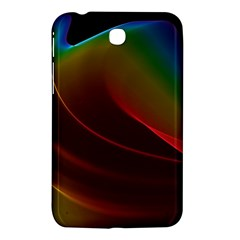 Liquid Rainbow, Abstract Wave Of Cosmic Energy  Samsung Galaxy Tab 3 (7 ) P3200 Hardshell Case  by DianeClancy