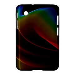 Liquid Rainbow, Abstract Wave Of Cosmic Energy  Samsung Galaxy Tab 2 (7 ) P3100 Hardshell Case  by DianeClancy