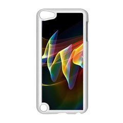 Northern Lights, Abstract Rainbow Aurora Apple Ipod Touch 5 Case (white)