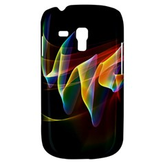 Northern Lights, Abstract Rainbow Aurora Samsung Galaxy S3 Mini I8190 Hardshell Case by DianeClancy