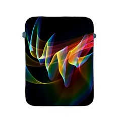 Northern Lights, Abstract Rainbow Aurora Apple Ipad Protective Sleeve by DianeClancy