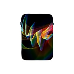 Northern Lights, Abstract Rainbow Aurora Apple Ipad Mini Protective Sleeve by DianeClancy