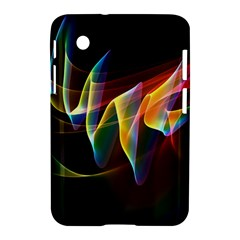 Northern Lights, Abstract Rainbow Aurora Samsung Galaxy Tab 2 (7 ) P3100 Hardshell Case  by DianeClancy