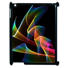 Crystal Rainbow, Abstract Winds Of Love  Apple Ipad 2 Case (black) by DianeClancy