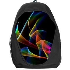 Crystal Rainbow, Abstract Winds Of Love  Backpack Bag by DianeClancy