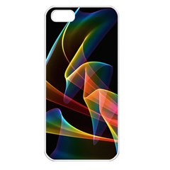 Crystal Rainbow, Abstract Winds Of Love  Apple Iphone 5 Seamless Case (white) by DianeClancy