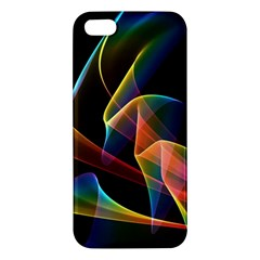 Crystal Rainbow, Abstract Winds Of Love  Apple Iphone 5 Premium Hardshell Case by DianeClancy
