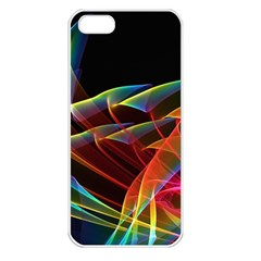 Dancing Northern Lights, Abstract Summer Sky  Apple Iphone 5 Seamless Case (white) by DianeClancy