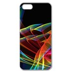 Dancing Northern Lights, Abstract Summer Sky  Apple Seamless iPhone 5 Case (Clear) Front