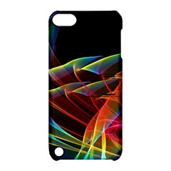 Dancing Northern Lights, Abstract Summer Sky  Apple Ipod Touch 5 Hardshell Case With Stand by DianeClancy