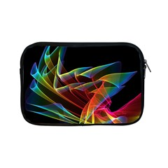 Dancing Northern Lights, Abstract Summer Sky  Apple Ipad Mini Zippered Sleeve by DianeClancy
