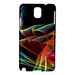 Dancing Northern Lights, Abstract Summer Sky  Samsung Galaxy Note 3 N9005 Hardshell Case by DianeClancy