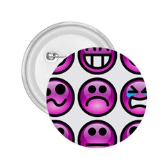 Chronic Pain Emoticons 2 25  Button by FunWithFibro