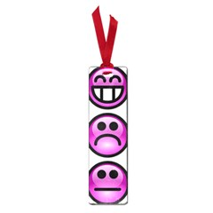 Chronic Pain Emoticons Small Bookmark by FunWithFibro