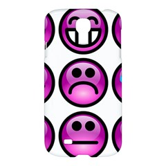 Chronic Pain Emoticons Samsung Galaxy S4 I9500/i9505 Hardshell Case by FunWithFibro