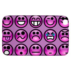 Chronic Pain Emoticons Samsung Galaxy Tab 3 (8 ) T3100 Hardshell Case  by FunWithFibro