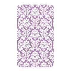 White On Lilac Damask Memory Card Reader (rectangular) by Zandiepants
