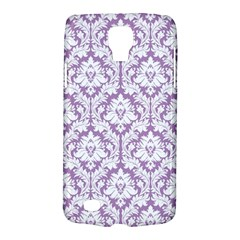 White On Lilac Damask Samsung Galaxy S4 Active (i9295) Hardshell Case by Zandiepants