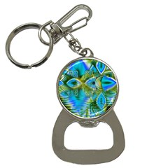 Mystical Spring, Abstract Crystal Renewal Bottle Opener Key Chain