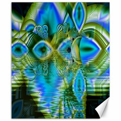 Mystical Spring, Abstract Crystal Renewal Canvas 8  X 10  (unframed) by DianeClancy