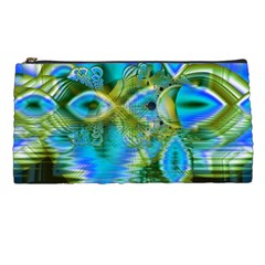 Mystical Spring, Abstract Crystal Renewal Pencil Case by DianeClancy