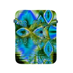 Mystical Spring, Abstract Crystal Renewal Apple Ipad Protective Sleeve by DianeClancy