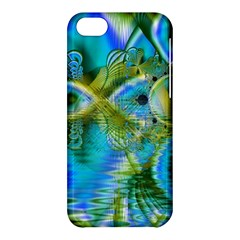 Mystical Spring, Abstract Crystal Renewal Apple Iphone 5c Hardshell Case by DianeClancy