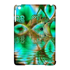 Spring Leaves, Abstract Crystal Flower Garden Apple Ipad Mini Hardshell Case (compatible With Smart Cover) by DianeClancy