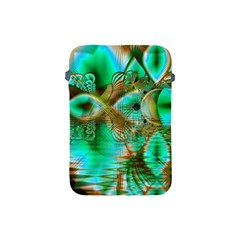 Spring Leaves, Abstract Crystal Flower Garden Apple Ipad Mini Protective Sleeve by DianeClancy