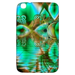 Spring Leaves, Abstract Crystal Flower Garden Samsung Galaxy Tab 3 (8 ) T3100 Hardshell Case  by DianeClancy
