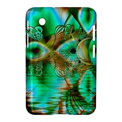 Spring Leaves, Abstract Crystal Flower Garden Samsung Galaxy Tab 2 (7 ) P3100 Hardshell Case  by DianeClancy