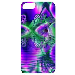 Evening Crystal Primrose, Abstract Night Flowers Apple Iphone 5 Classic Hardshell Case