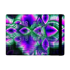 Evening Crystal Primrose, Abstract Night Flowers Apple Ipad Mini Flip Case by DianeClancy