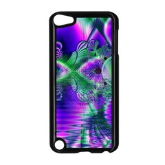 Evening Crystal Primrose, Abstract Night Flowers Apple Ipod Touch 5 Case (black)