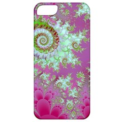 Raspberry Lime Surprise, Abstract Sea Garden  Apple Iphone 5 Classic Hardshell Case by DianeClancy