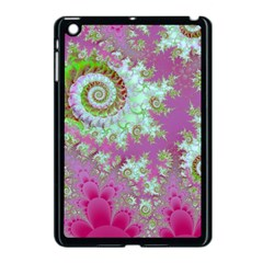 Raspberry Lime Surprise, Abstract Sea Garden  Apple Ipad Mini Case (black) by DianeClancy