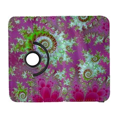 Raspberry Lime Surprise, Abstract Sea Garden  Samsung Galaxy S  Iii Flip 360 Case by DianeClancy