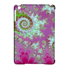 Raspberry Lime Surprise, Abstract Sea Garden  Apple Ipad Mini Hardshell Case (compatible With Smart Cover) by DianeClancy