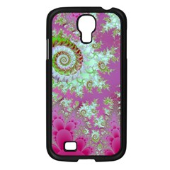 Raspberry Lime Surprise, Abstract Sea Garden  Samsung Galaxy S4 I9500/ I9505 Case (black) by DianeClancy