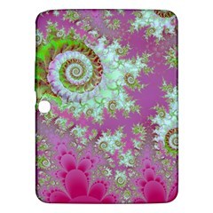 Raspberry Lime Surprise, Abstract Sea Garden  Samsung Galaxy Tab 3 (10 1 ) P5200 Hardshell Case  by DianeClancy