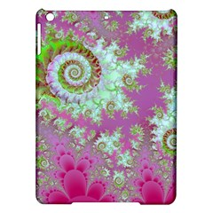 Raspberry Lime Surprise, Abstract Sea Garden  Apple Ipad Air Hardshell Case by DianeClancy