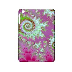 Raspberry Lime Surprise, Abstract Sea Garden  Apple Ipad Mini 2 Hardshell Case by DianeClancy