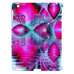 Ruby Red Crystal Palace, Abstract Jewels Apple Ipad 3/4 Hardshell Case (compatible With Smart Cover)