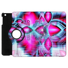 Ruby Red Crystal Palace, Abstract Jewels Apple Ipad Mini Flip 360 Case by DianeClancy