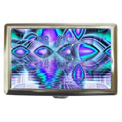 Peacock Crystal Palace Of Dreams, Abstract Cigarette Money Case by DianeClancy