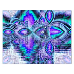 Peacock Crystal Palace Of Dreams, Abstract Jigsaw Puzzle (rectangle) by DianeClancy