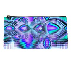 Peacock Crystal Palace Of Dreams, Abstract Pencil Case by DianeClancy