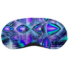 Peacock Crystal Palace Of Dreams, Abstract Sleeping Mask by DianeClancy