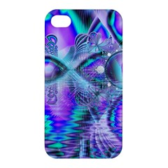 Peacock Crystal Palace Of Dreams, Abstract Apple Iphone 4/4s Hardshell Case by DianeClancy