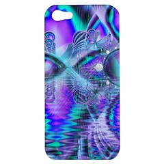 Peacock Crystal Palace Of Dreams, Abstract Apple Iphone 5 Hardshell Case by DianeClancy